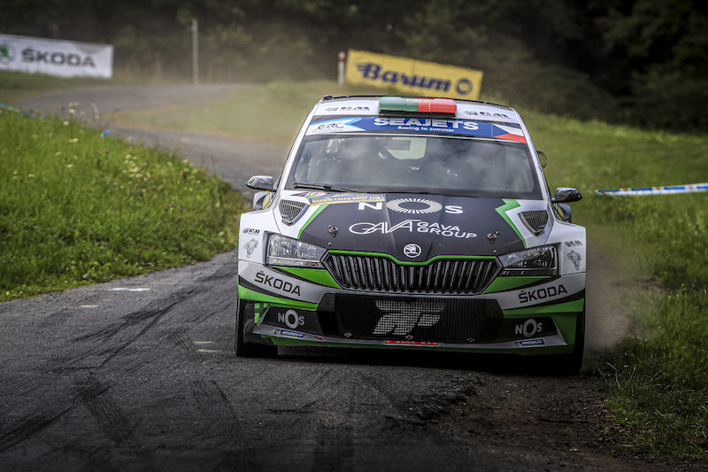 FPAK Portugal Team ERC's Monteiro gets to grips with new Fabia