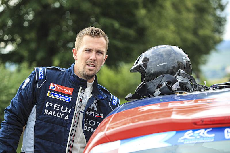 Rossel ringrazia Peugeot per la grande occasione ERC