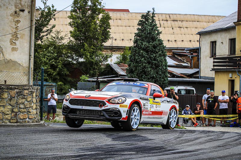 Polonski reveals mixed feelings following ERC Abarth podium