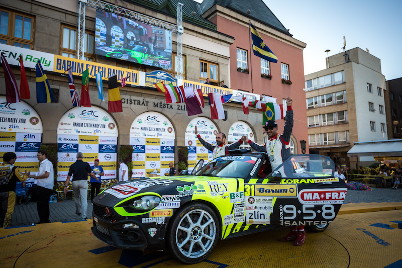 Nucita thanks team for ERC Abarth Rally Cup lead