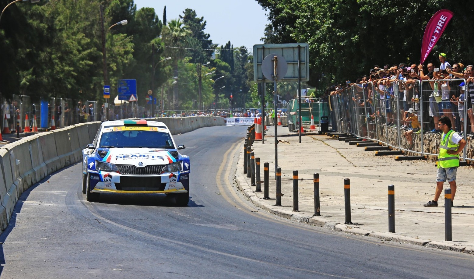 ERC gets set for Super Special Stage Saturday in Cyprus