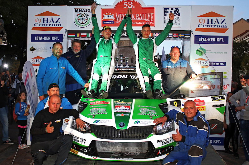 Hungarian champion to take on ERC title chasers at home