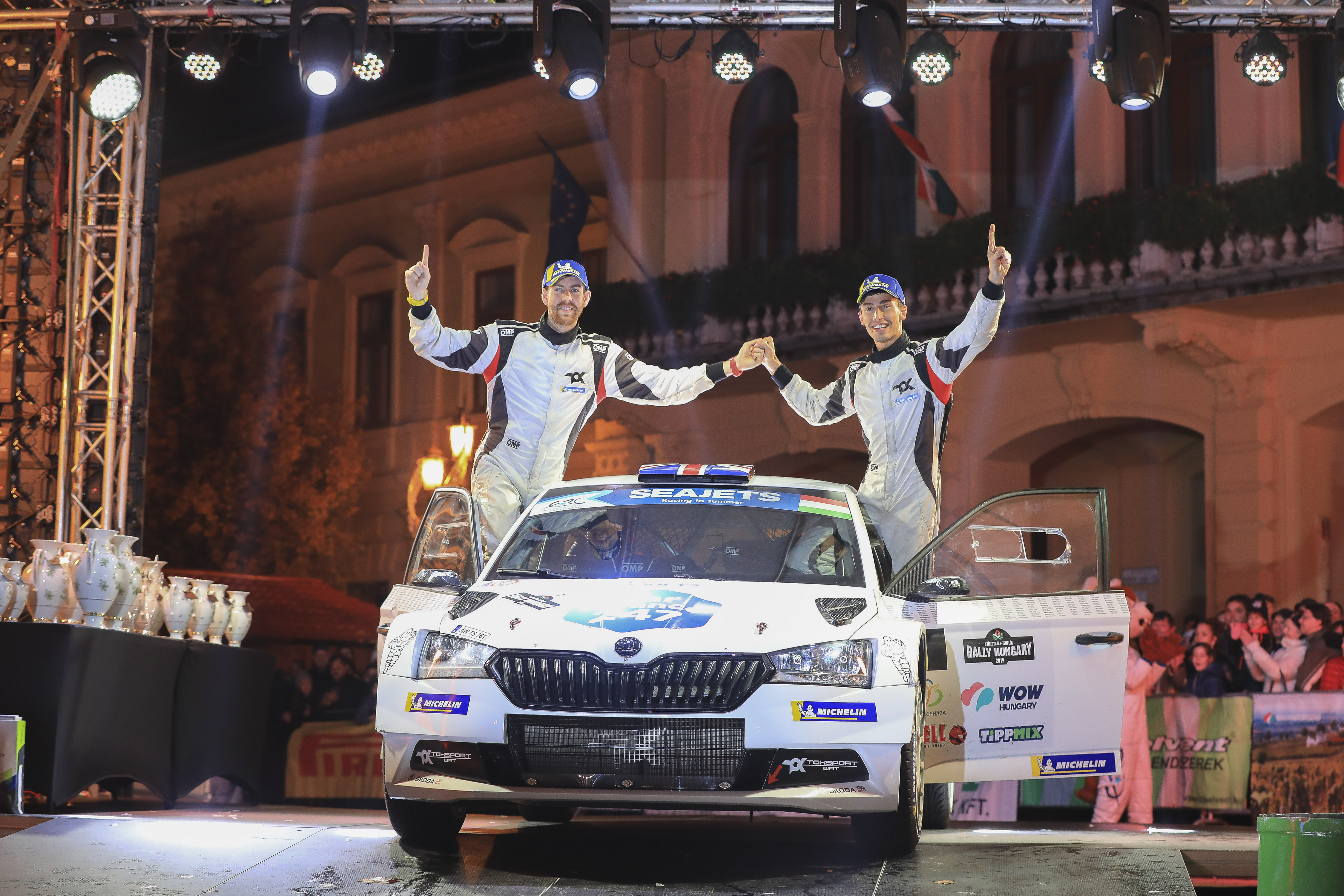 Turan wins Rally Hungary, Ingram clinches ERC title in final-stage decider - fiaerc.com
