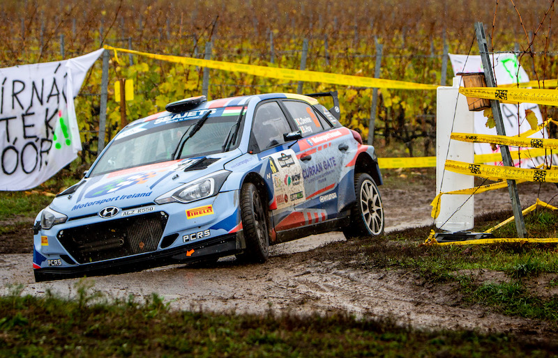"Debut podium convinces Devine he ""can mix it"" in ERC"