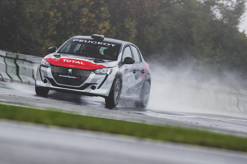 All-new, ERC-bound Peugeot 208 Rally 4 launched