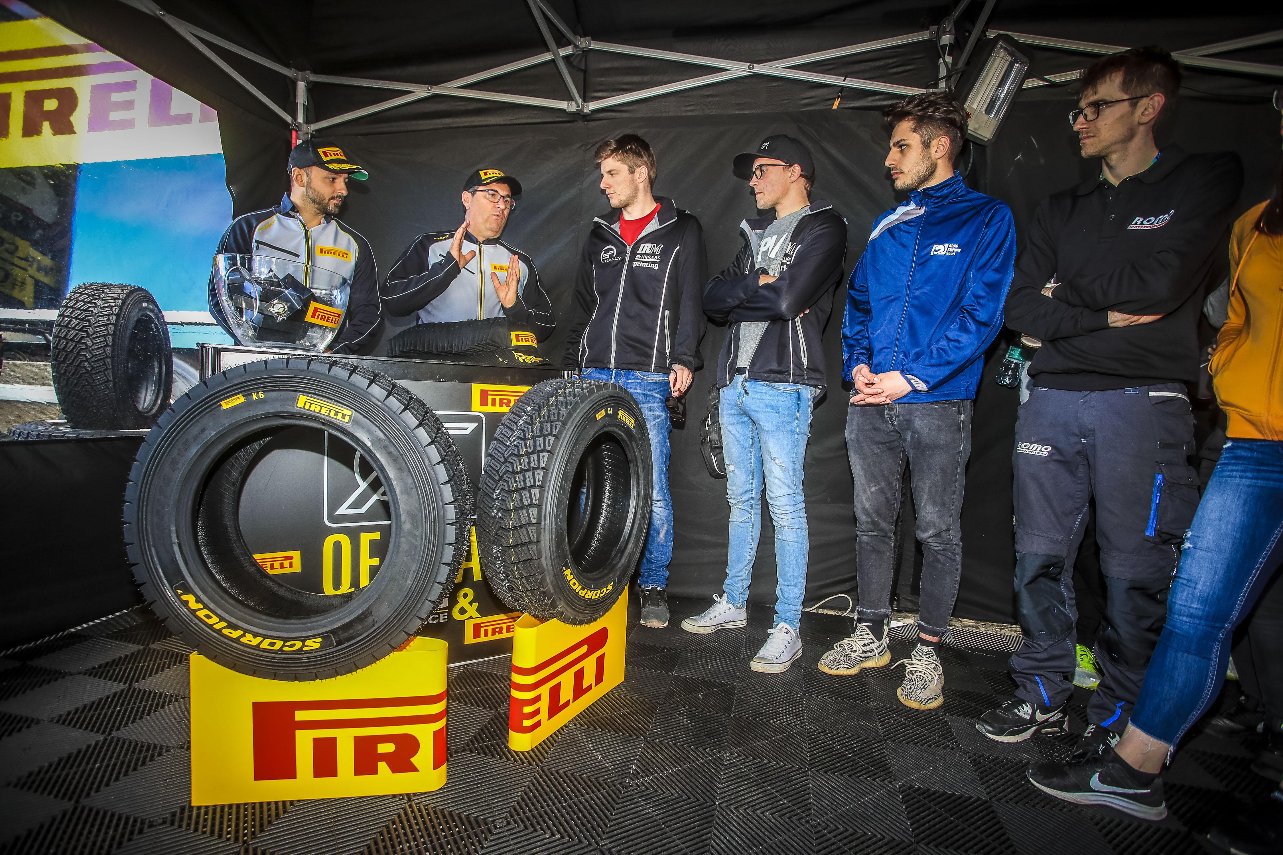 Les pilotes ERC3 Junior vont compter sur les pneus Pirelli pour les trois prochaines saisons