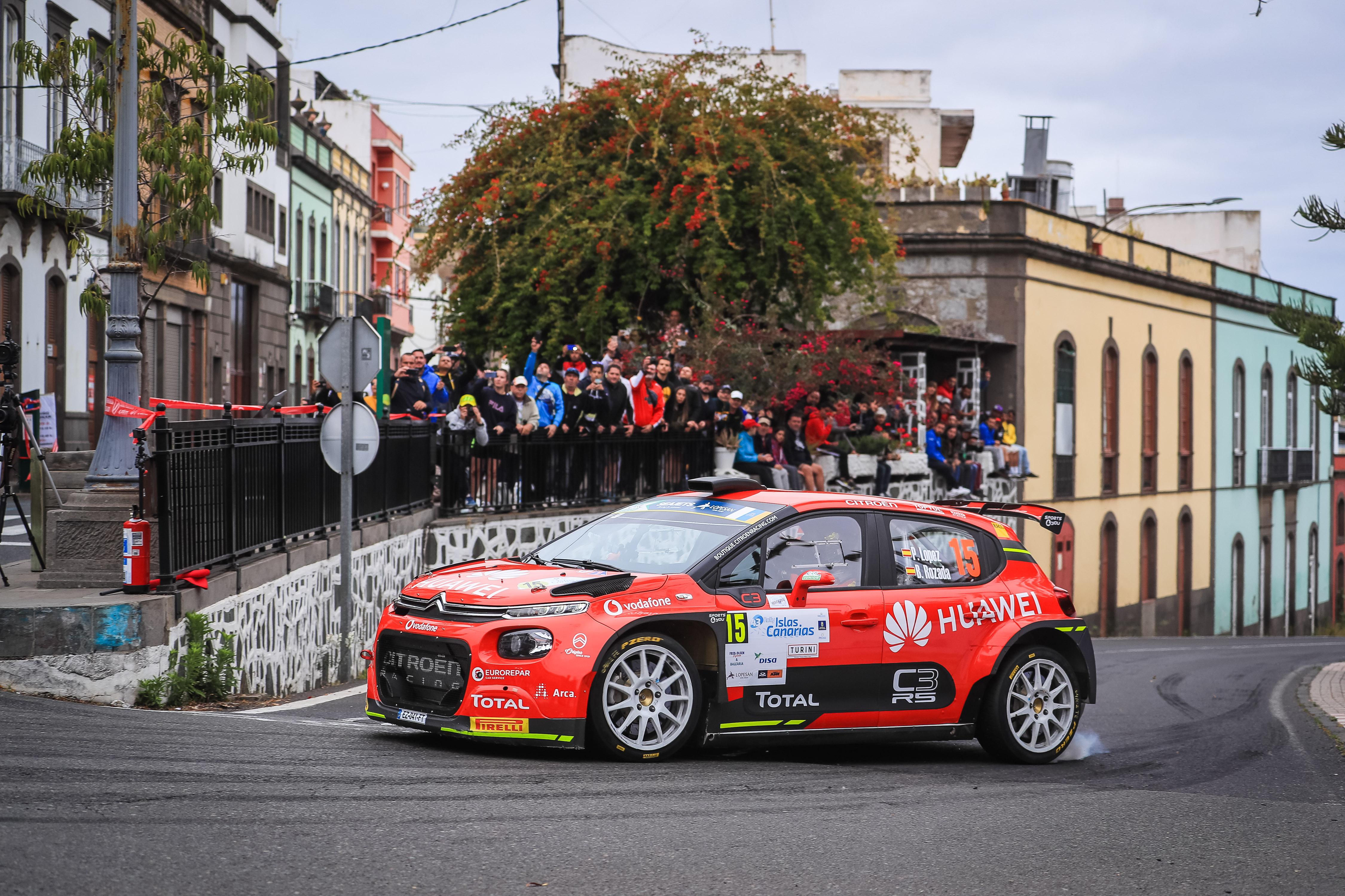 Les inscriptions sont ouvertes pour le Rally Islas Canarias en ERC
