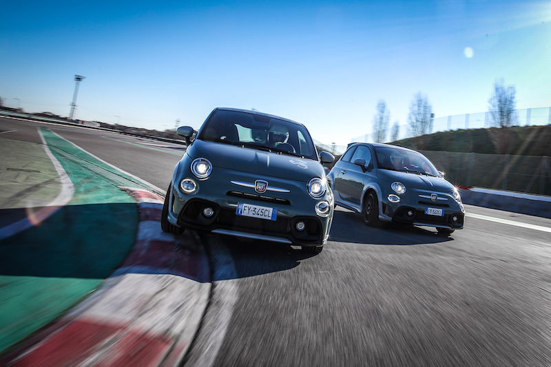 ERC's Nucita goes up against fellow Abarth-powered driver Hauger in champions' challenge