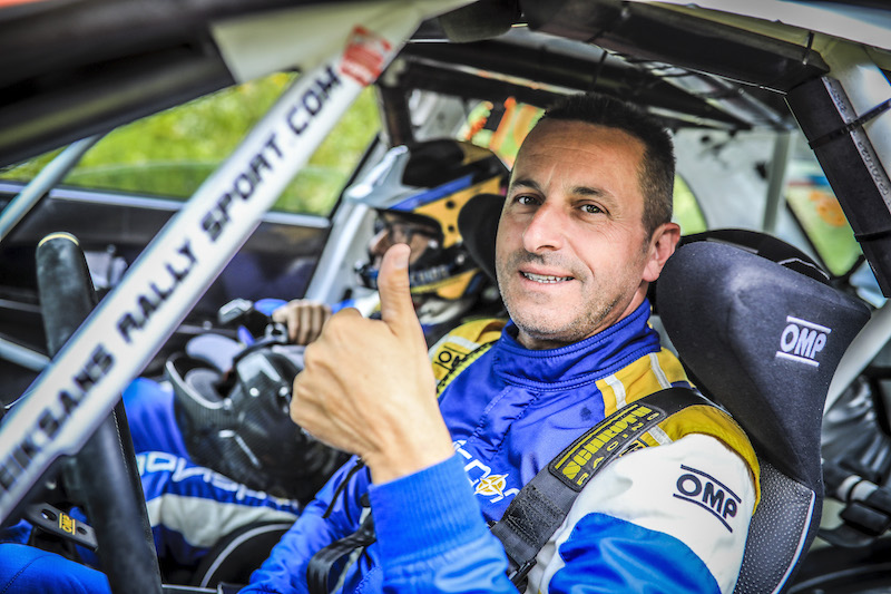 Crash fears not pictured as Melegari gets ready for ERC return