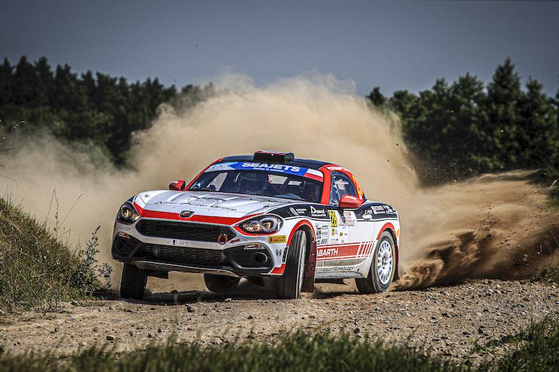 Le calendrier de l'Abarth Rally Cup 2020 mis à jour en ERC