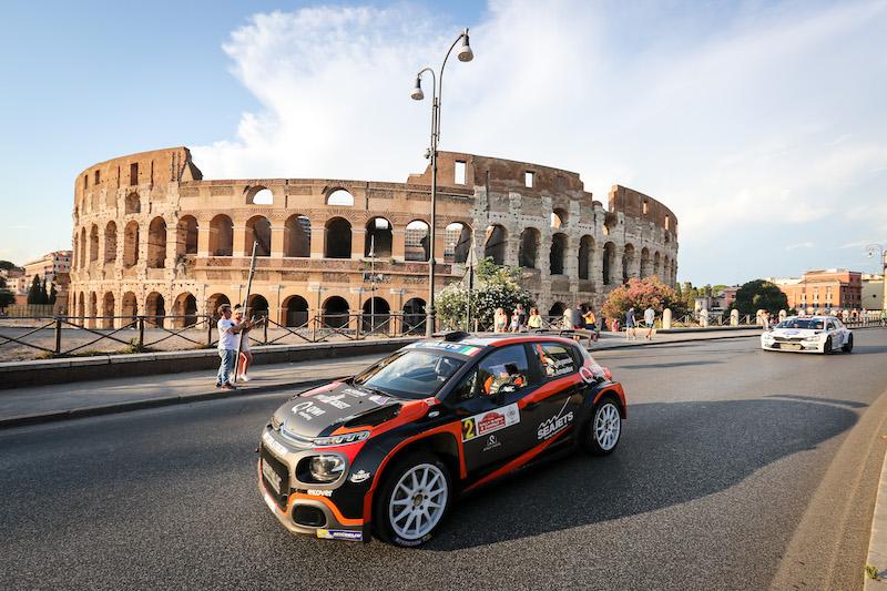 Liste des engagés du Rally di Roma Capitale: 56 concurrents ERC sur 87 équipages, 42 Rally2 et ce qu'il faut retenir