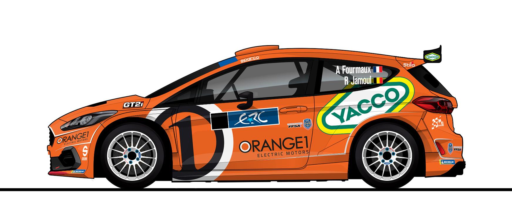 Fourmaux con Orange1 nell'ERC