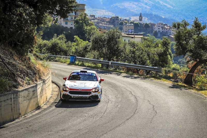 Les nouveaux venus en ERC Gobbin et Mabellini vont défier Polonski en Abarth Rally Cup à Rome