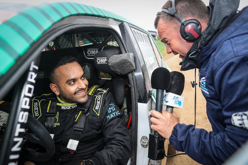 Prêt à remettre ça : Al-Rashed prévoit son retour en ERC pour le Rallye de Liepaja