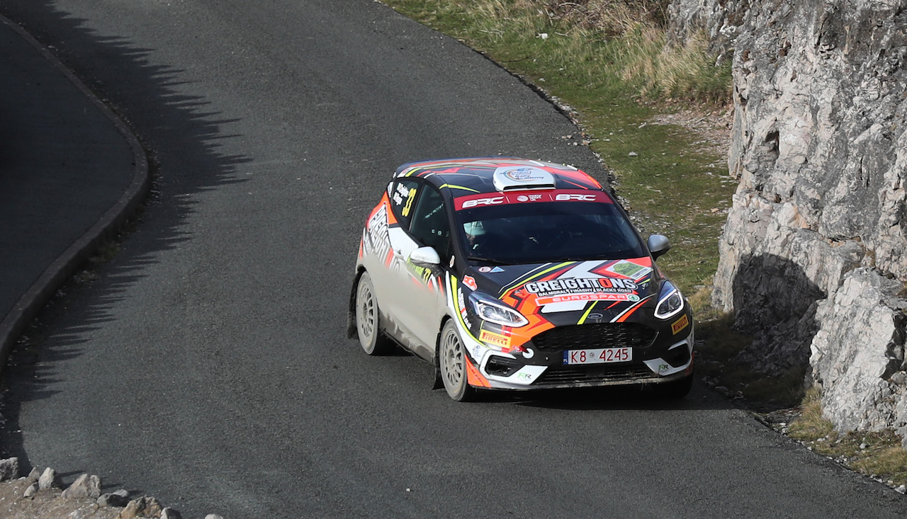 ERC Rally di Roma Capitale calling for Creighton