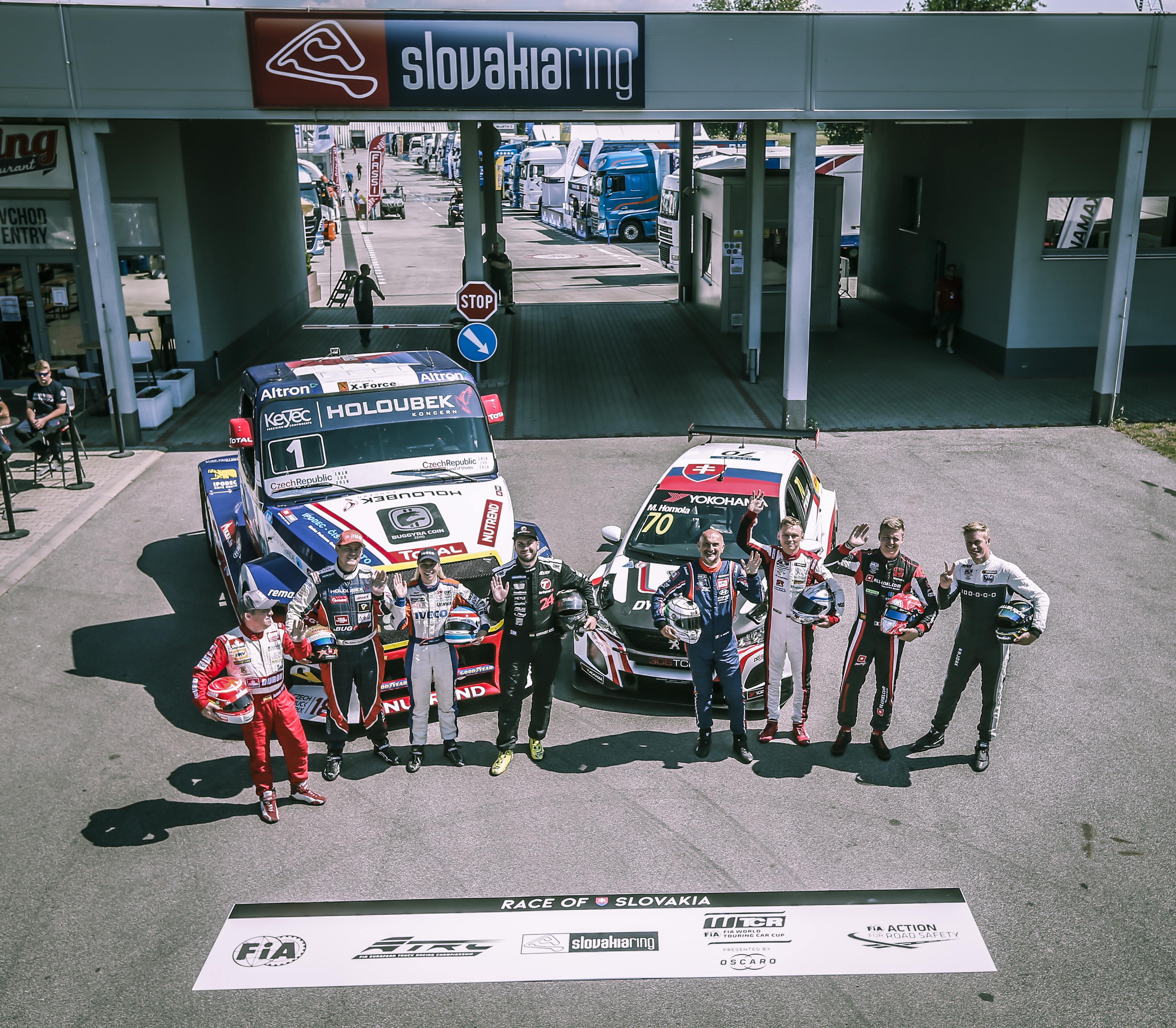 When two FIA championships united in Slovakia