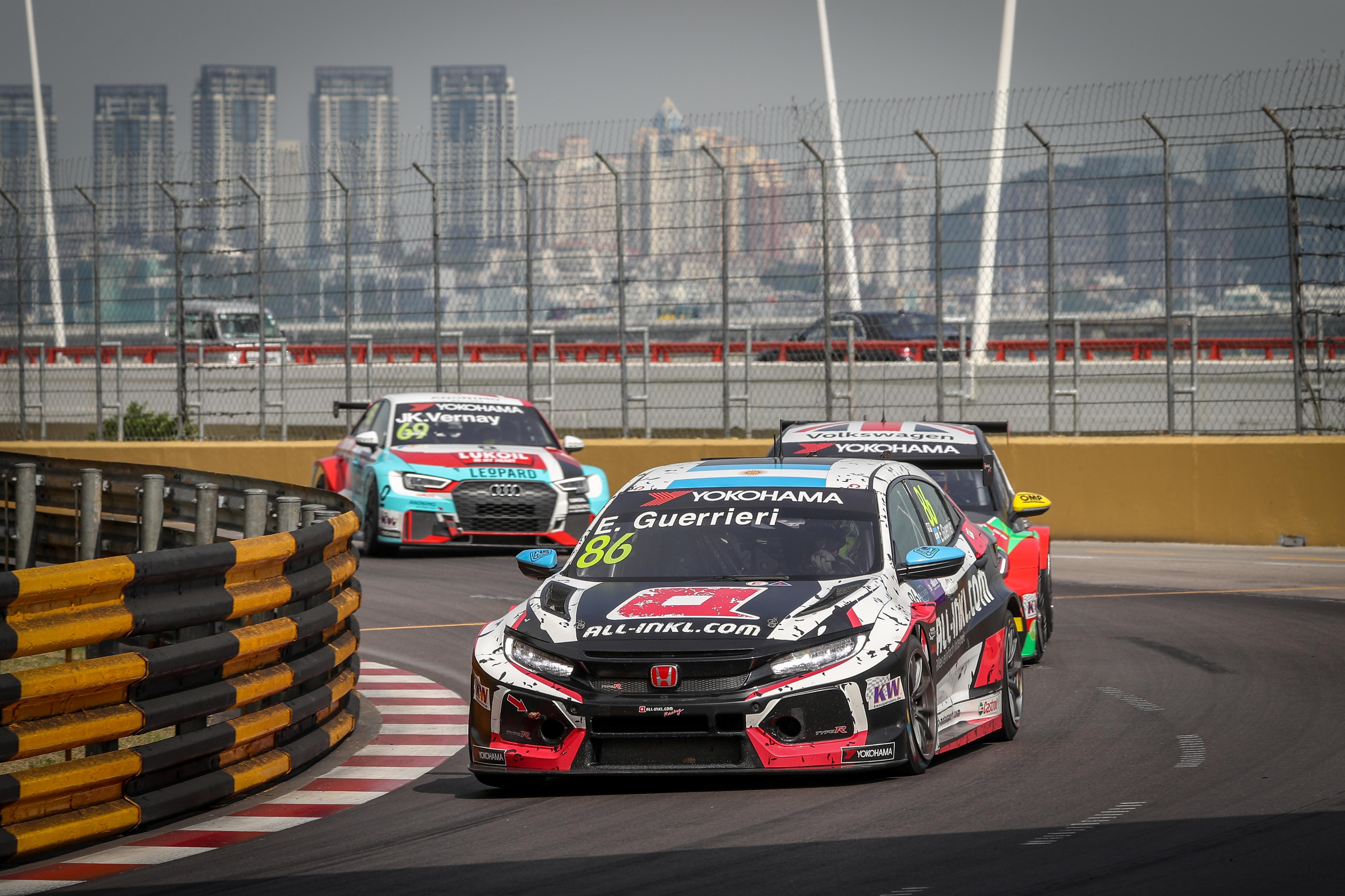 Guerrieris WTCR Sieg rundet bemerkenswerten Hattrick von Honda in Macau ab