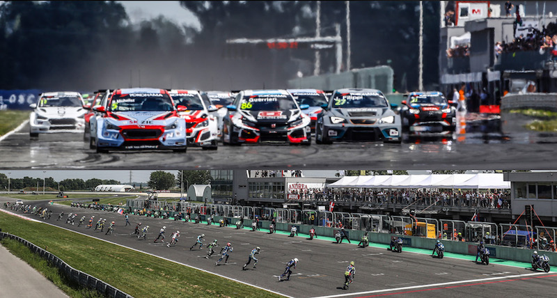It S Nice On Ice For Wtcr Drivers Teams Fia Wtcr World Touring Car Cup Presented By Oscaro