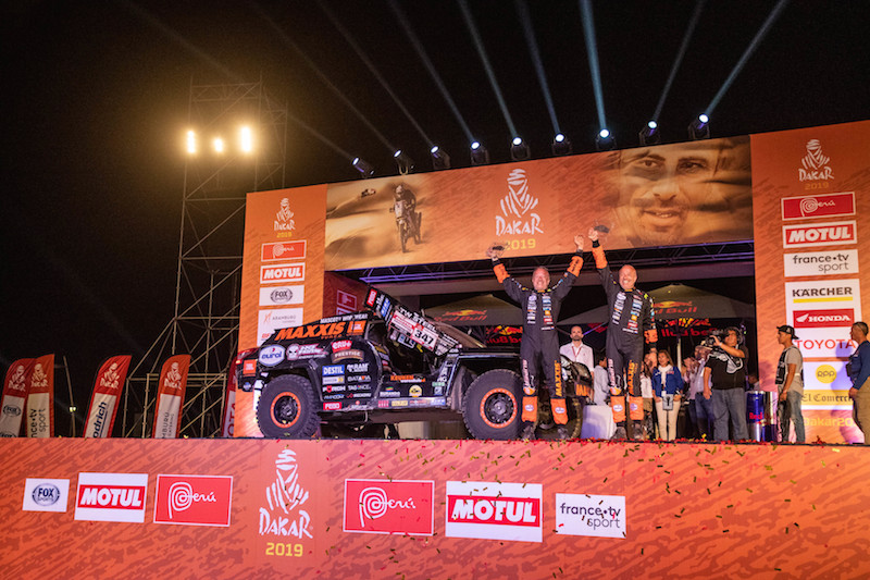 WTCR salutes Coronel, Loeb following Dakar finishes