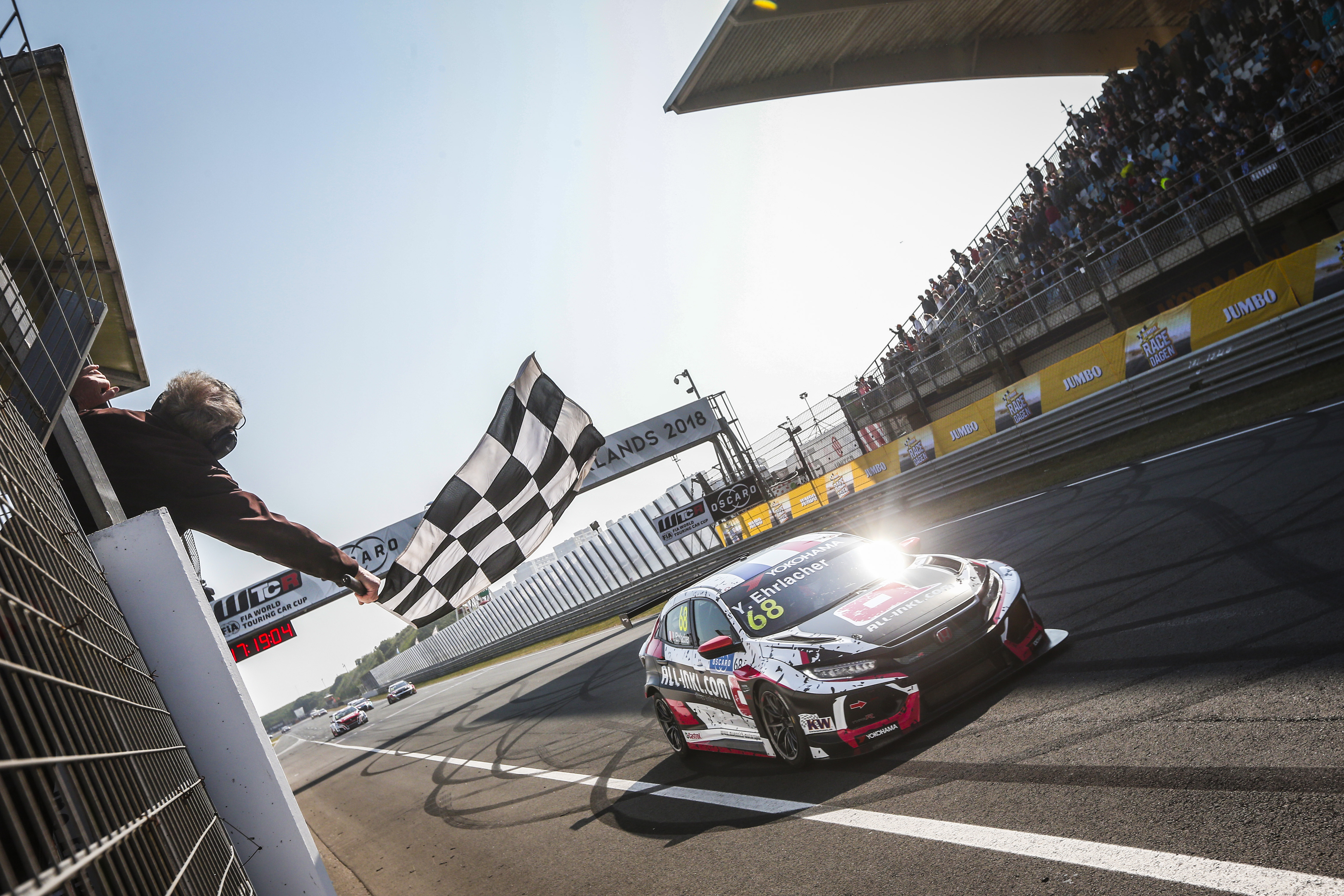 Honda racers to chase more WTCR success in 2019
