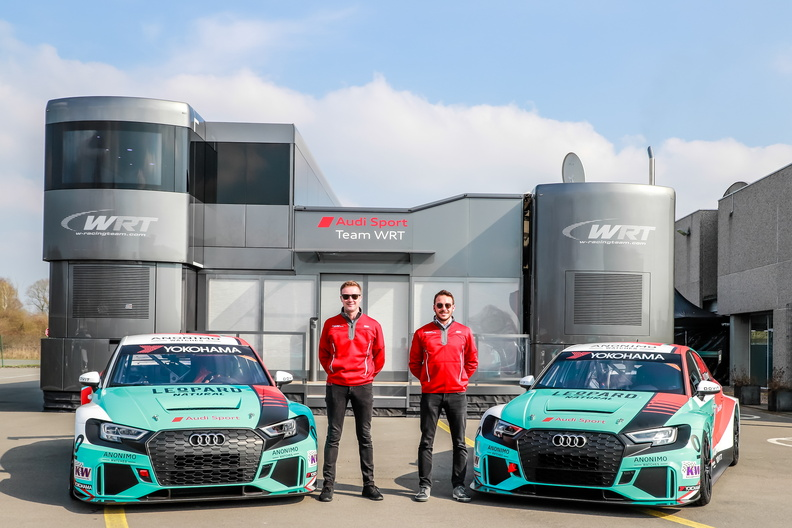 Wraps come off Leopard Racing WTCR Audis