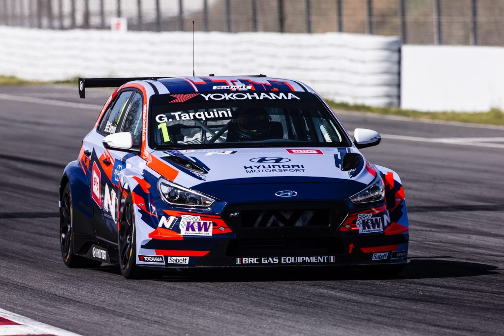 Hyundai elettrica ETCR Gabriele Tarquini