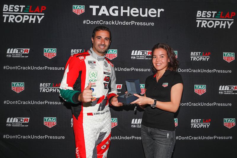 地元の英雄ベナーニがWTCR TAGホイヤー・ベストラップトロフィーを獲得