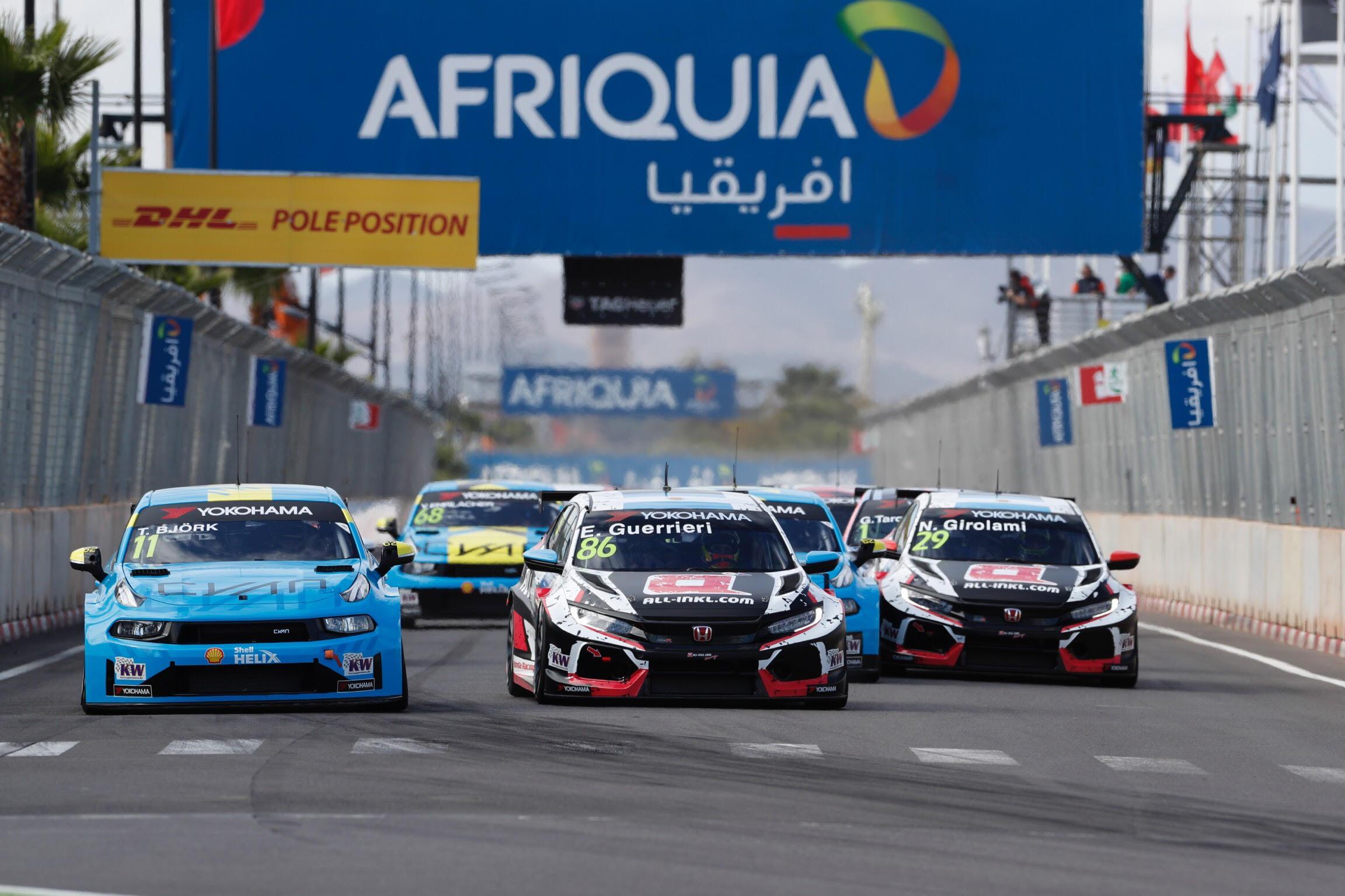 WTCR Carrera 1: Guerrieri gana la primera batalla de 2019
