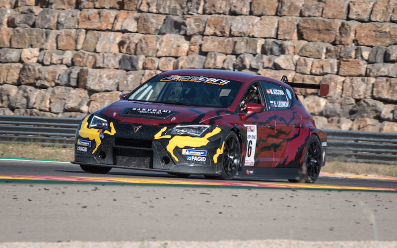 WTCR Podium Finisher Azcona Performs Spanish Cameo