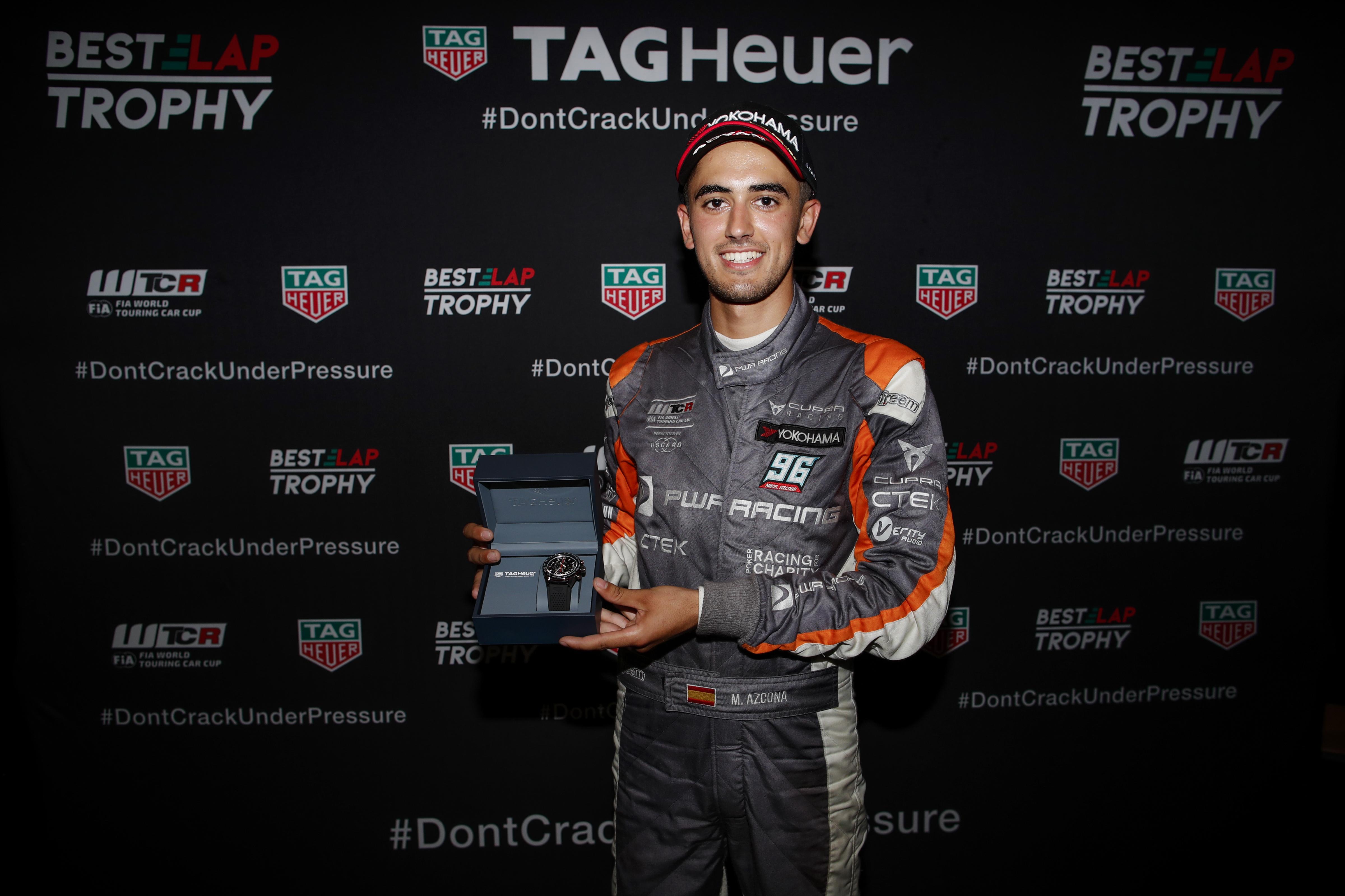 WTCRレース・オブ・ポルトガルのタグホイヤー・ベストラップトロフィーはアスコナが獲得