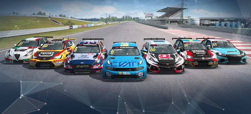 Get your WTCR car on RaceRoom today