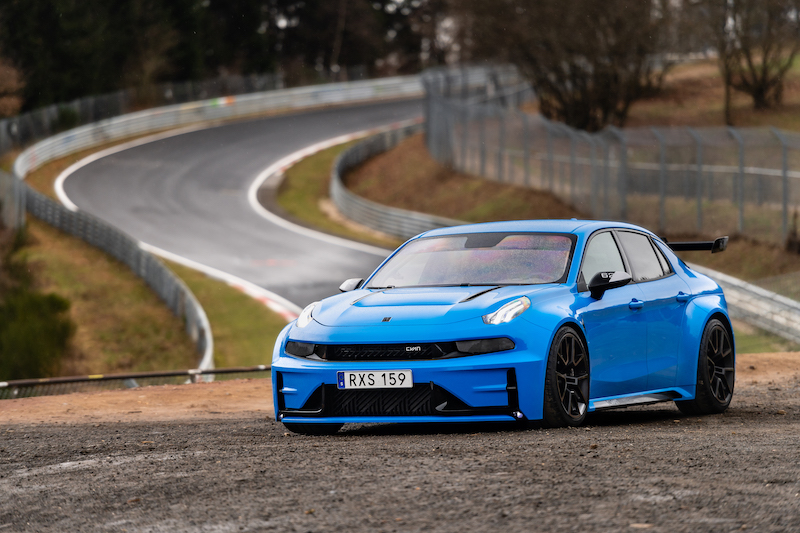 Bjork, Cyan use WTCR pedigree to break Nordschleife record in Lynk & Co Cyan Concept