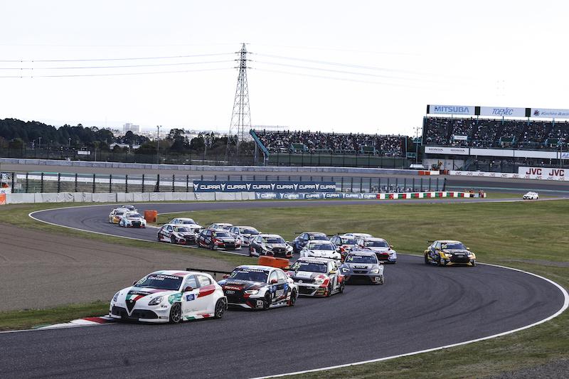 Suzuka Circuit East Course in Japan eine Herausforderung für die WTCR-Fahrer