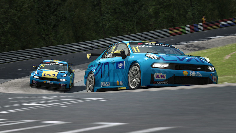 Preview: Big Nordschleife test for Esports WTCR OSCARO racers