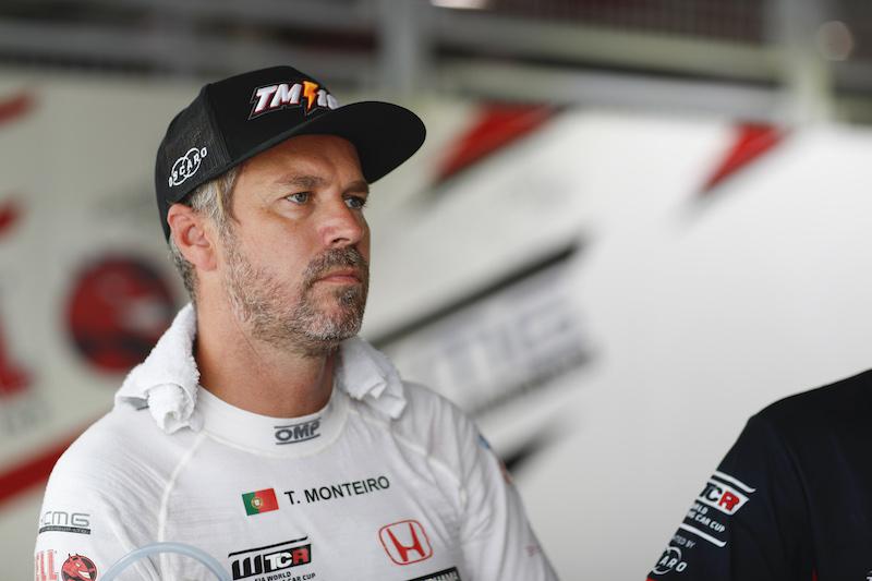 Monteiro está bien tras el fuerte accidente en el WTCR de China
