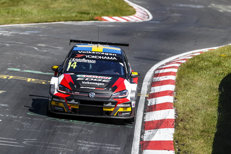 Kristoffersson puts learning first during WTCR run-in