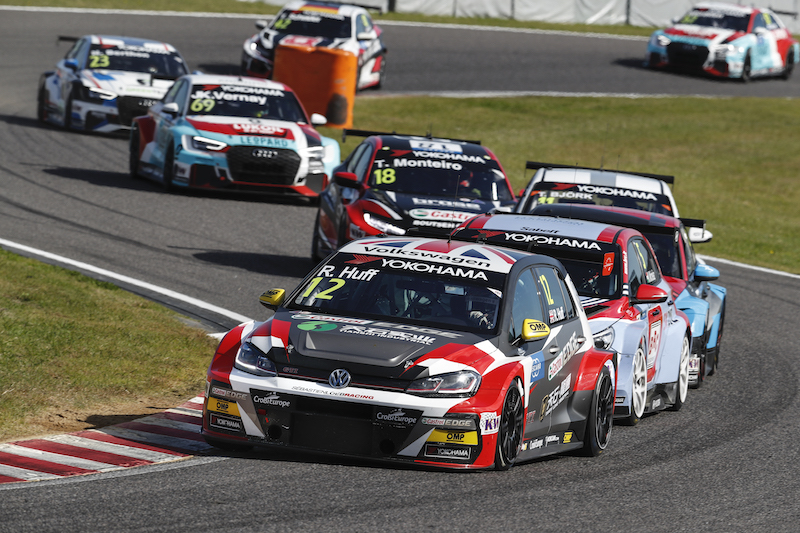 Huff: No time to catch breath at WTCR Race of Japan