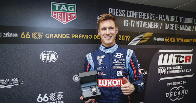 Catsburg claims WTCR TAG Heuer Best Lap Trophy in Macau