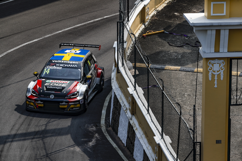 Kristoffersson top WTCR Macau rookie but wanted more