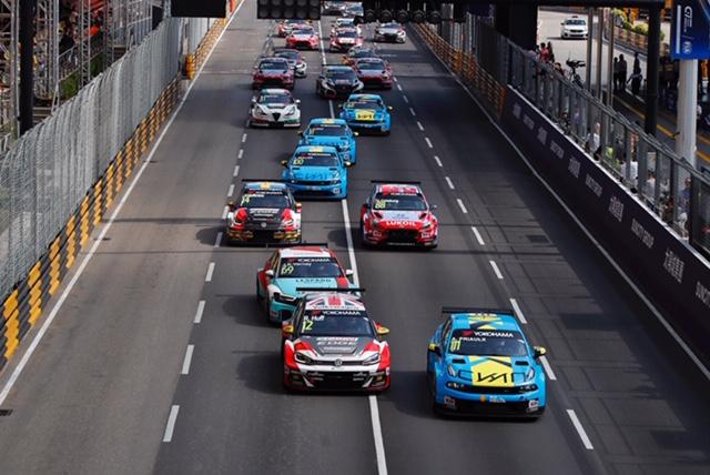 Drittes WTCR-Rennen: Priaulx schlägt Huff in Macau
