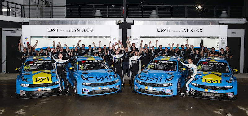 History is made as Lynk & Co becomes first Chinese brand to power an FIA world title win