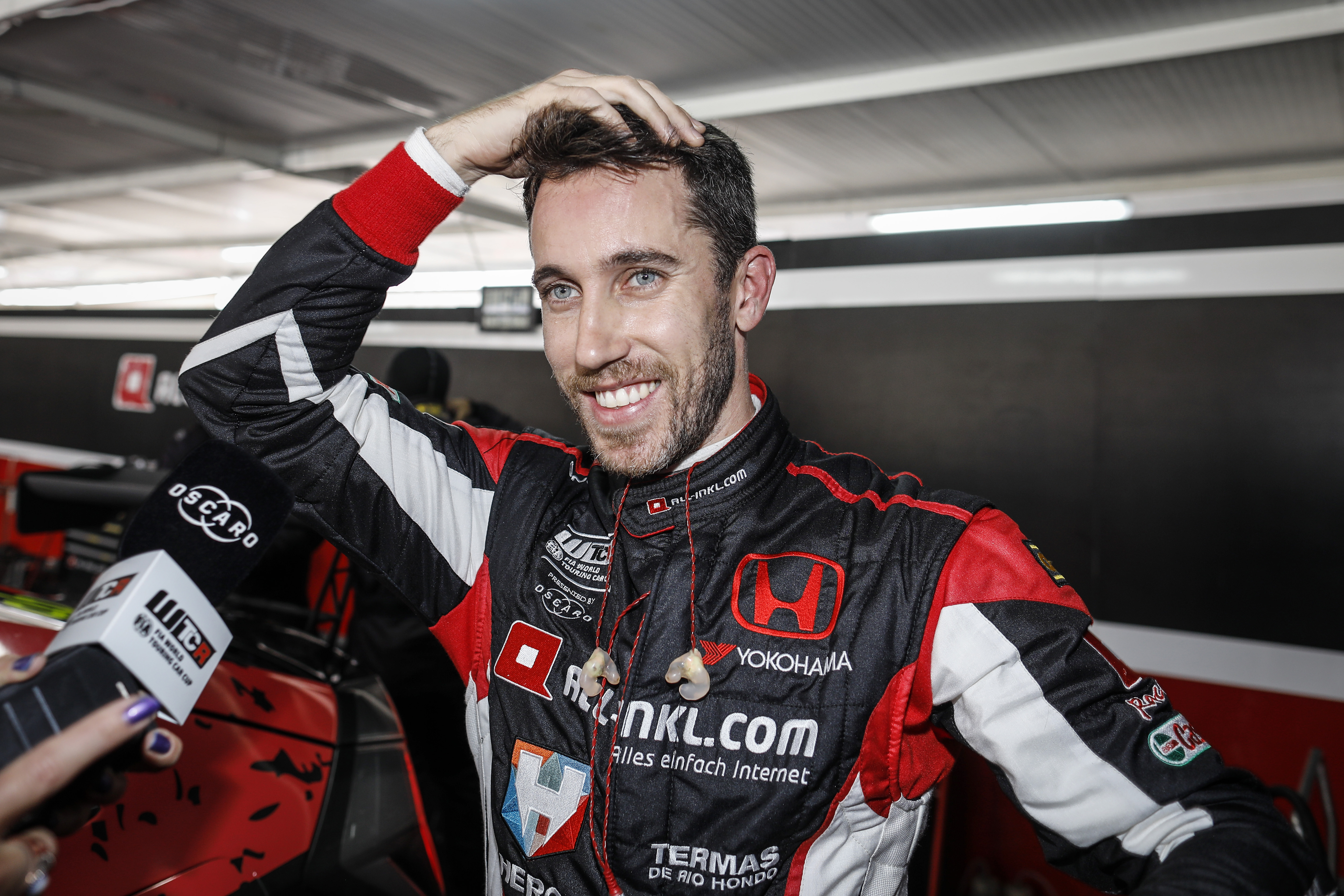 WTCR racer Guerrieri: powered by Honda, inspired by Senna