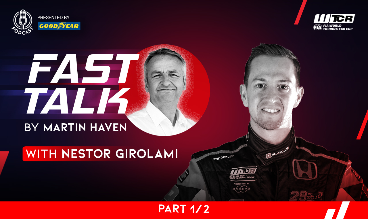 He's the 'Bebu' but can he be the man? Girolami talks titles on WTCR Fast Talk presented by Goodyear