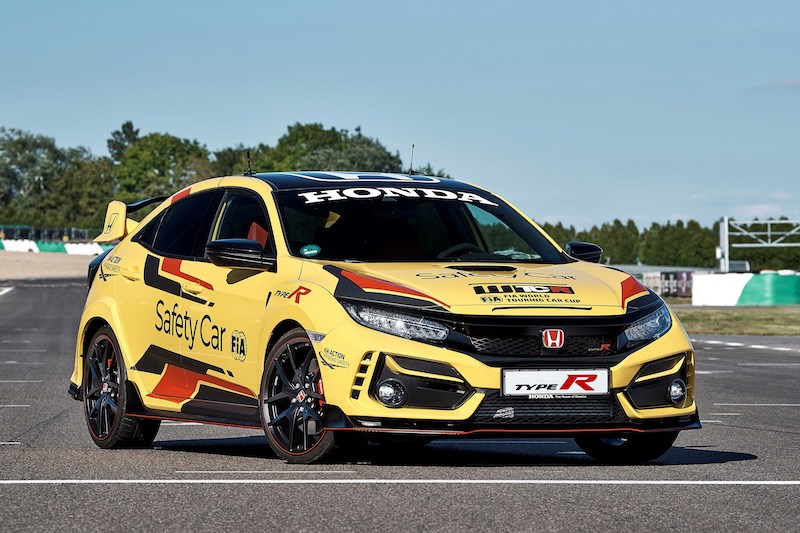 La Honda Civic Type R édition limitée sera la Safety Car officielle du FIA WTCR 2020