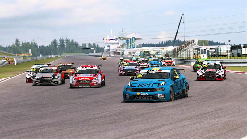 #RaceAtHome : Guerrieri reprend la tête, Ehrlacher cinquième vainqueur différent de la série de présaison Eports WTCR