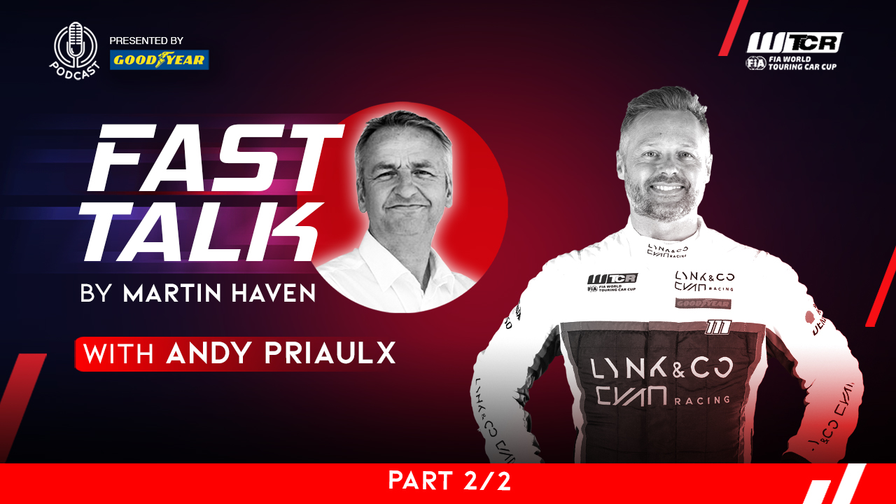 Titoli e decisioni difficili: ecco la seconda parte di WTCR Fast Talk podcast by Goodyear con Andy Priaulx