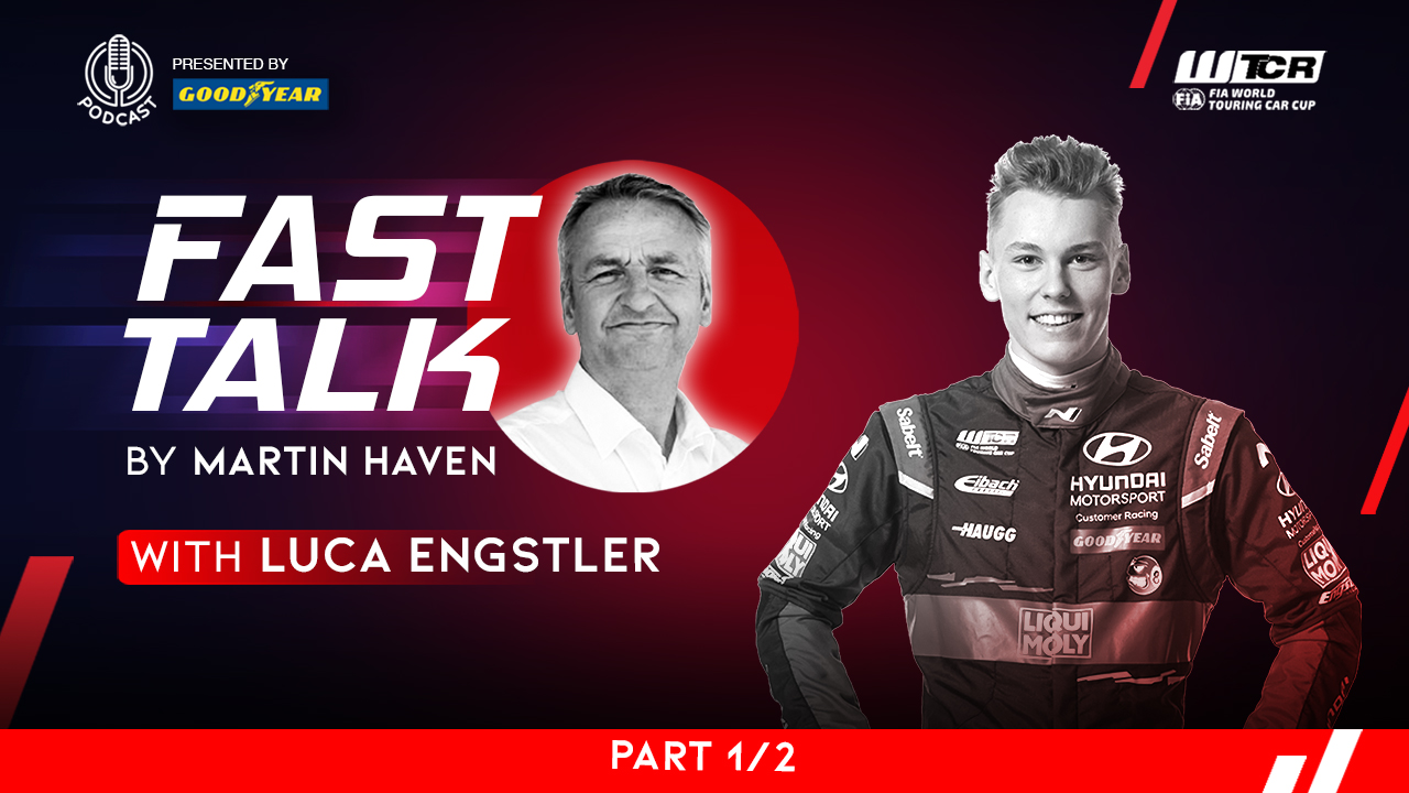 No time to stop: After almost quitting Engstler started winning on WTCR Fast Talk presented by Goodyear