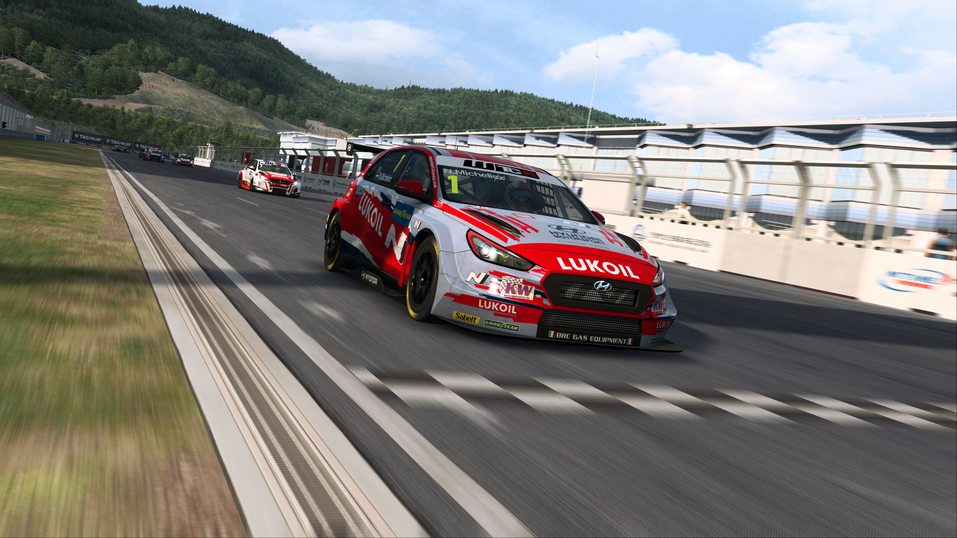 #RaceAtHome: King Michelisz shows his simracing skills with first pre-season Esports WTCR victory