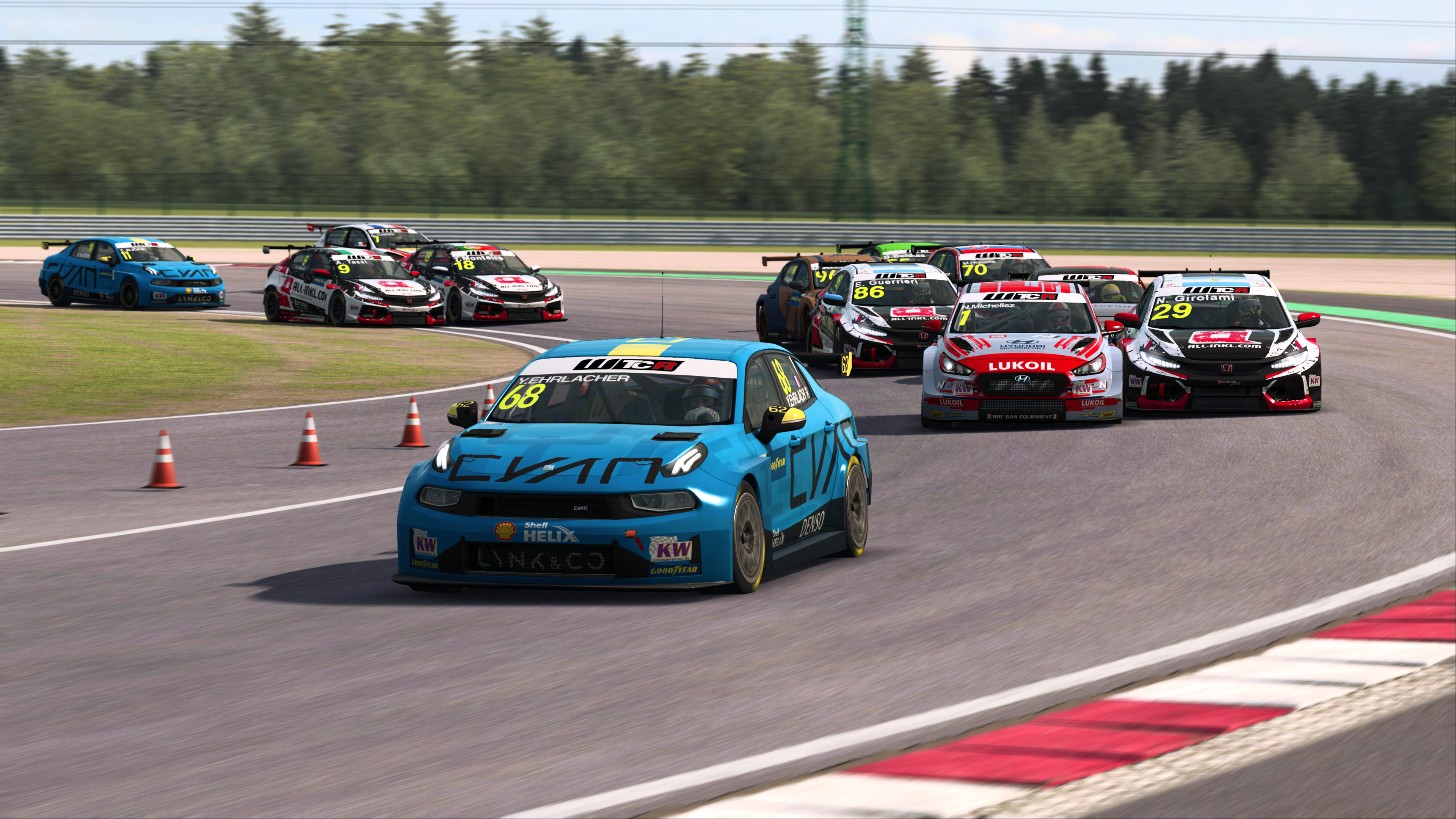 Preview: Ehrlacher on a charge as WTCR drivers prepare to #RaceAtHome in Pre-season Esports Championship