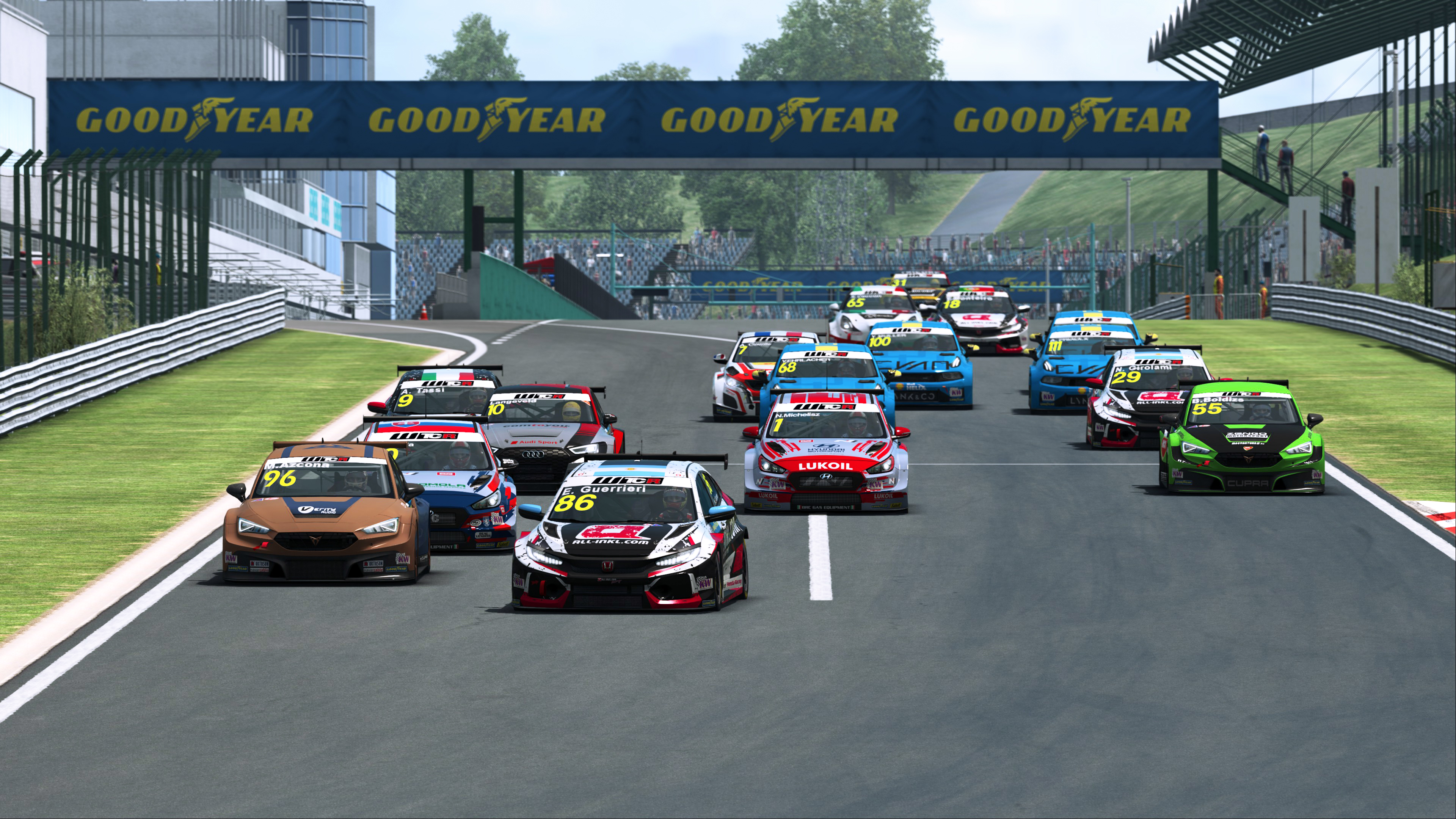 Who's on the Sepang Pre-season Esports WTCR grid?